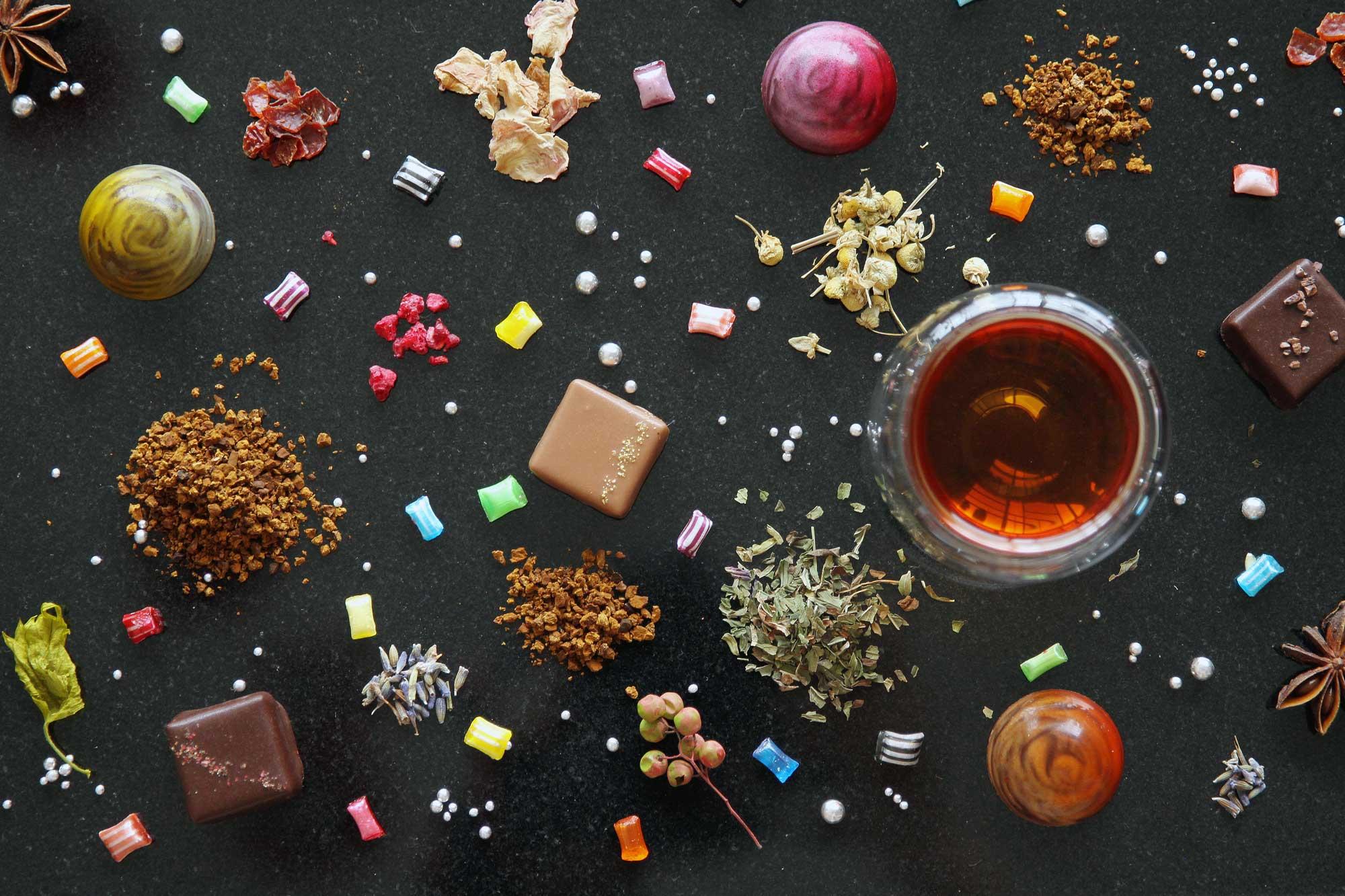 桦树茸茶 & 香草搭配