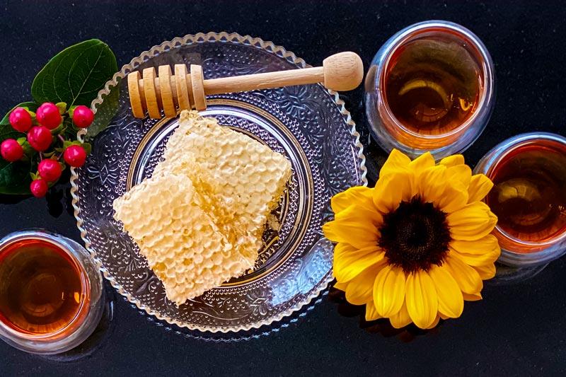 白桦茸蜂蜜食谱系列