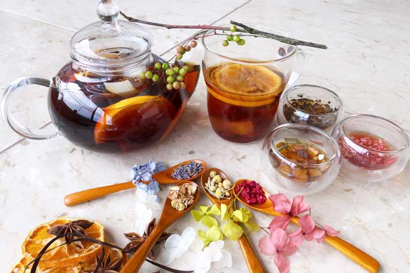 チャーガ茶のRETHÉのティーマナー
